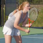 Girls Varsity Tennis beat Irmo