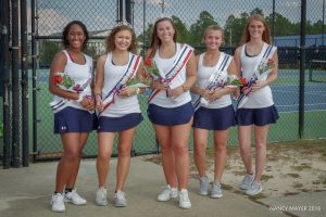 Ladies Varsity Tennis – Senior Night