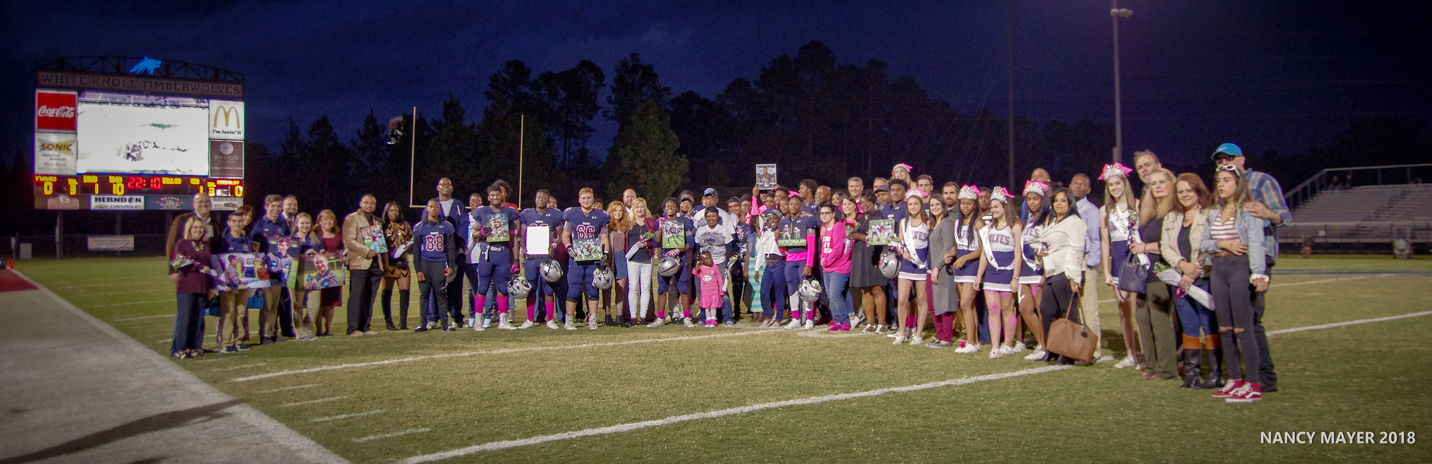 Senior Night photos posted soon!