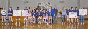 Volleyball Senior Night 10/18/19