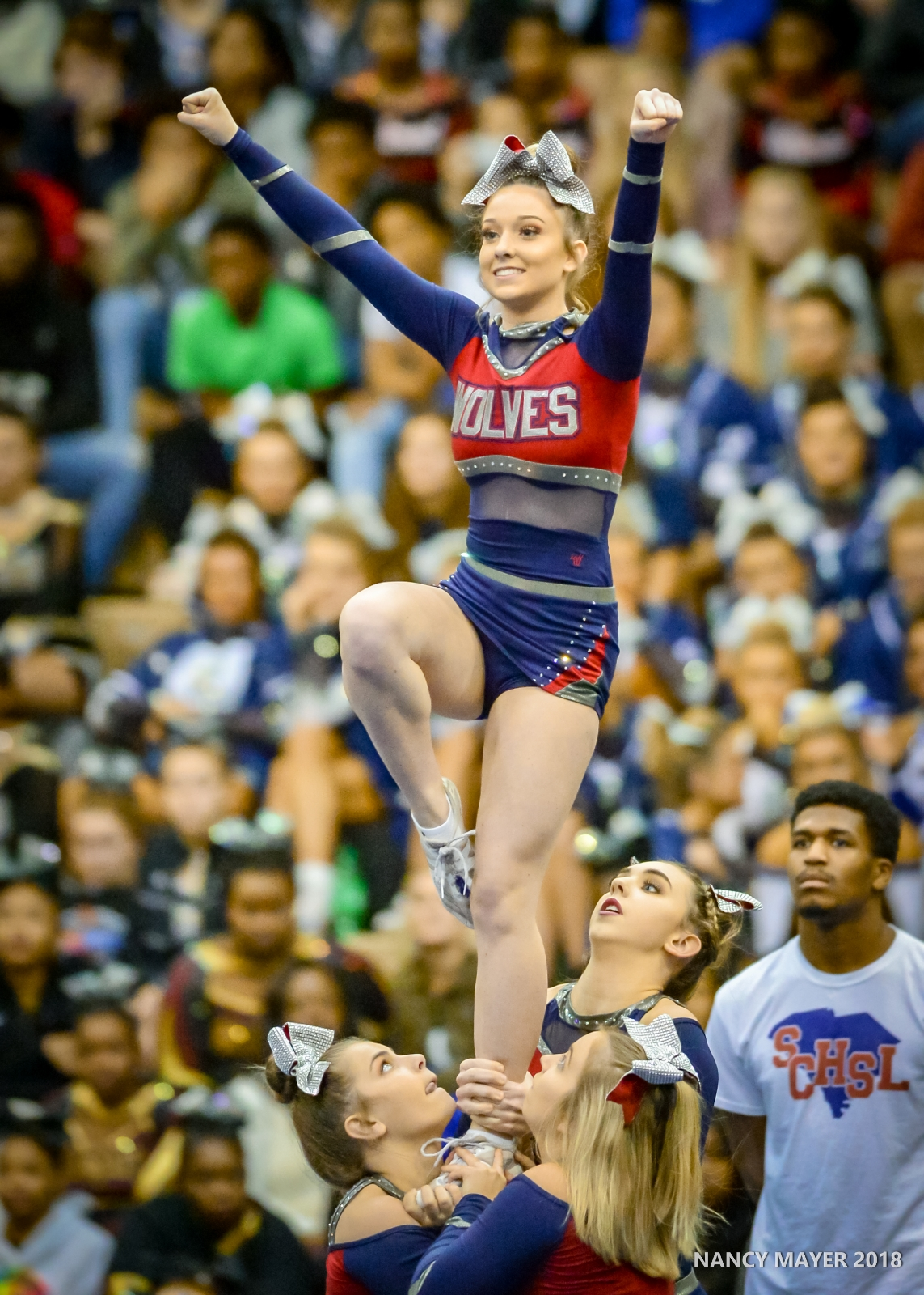 Varsity Cheer Qualifies for State – 11/10/18