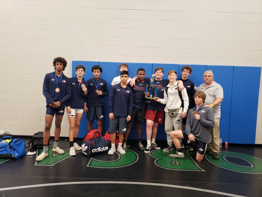 Varsity Wrestling Takes 2nd at Two Events