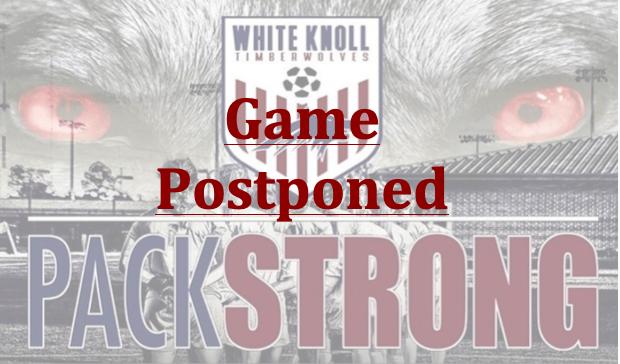 Girl's Soccer Match Vs. River Bluff Postponed