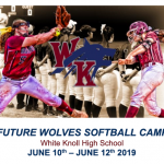 2019 Softball Camp June 10th – 12th