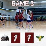 Girls Varsity Volleyball ties Aiken 1 – 1 in match three of Aiken Tournament