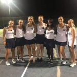 Girls Varsity Tennis beats Brookland-Cayce in a nailbiter 4-3