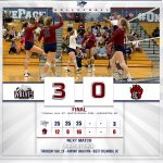 WK Volleyball wins home opener over Brookland-Cayce!