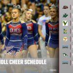WK Cheer Schedule