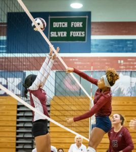 Photos – Varsity Volleyball vs BC 8/25/19
