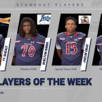 Football Players of the Week vs. Aiken
