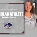 Alexandra Clemens earns Friday Night Rivals Scholar Athlete of the Week!