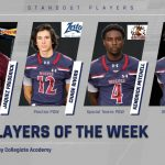 Players of the Week vs Gray
