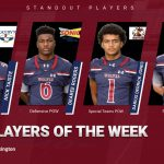 Players of the Week vs Lexington