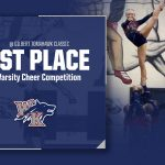 Varsity Cheer Wins First Competition