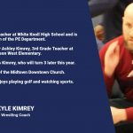 Coach Spotlight – Wrestling, Coach Kimrey