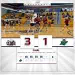 Girls Varsity Volleyball beats Dutch Fork 3 – 1
