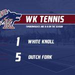 WK Tennis Meets Goals!