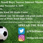 Boys Soccer Interest Meeting