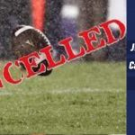 JV Football Game Cancelled Tonight