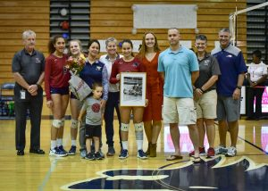 Photos – Varsity Volleyball Senior Night vs Dutch Fork