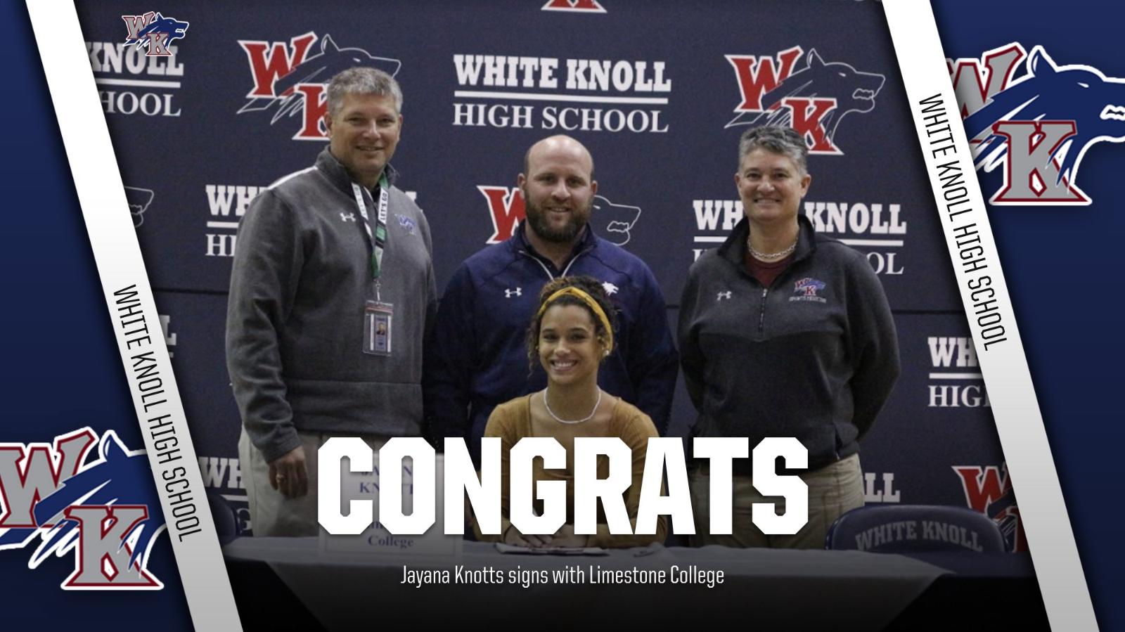 Jayana Knotts signs with Limestone!