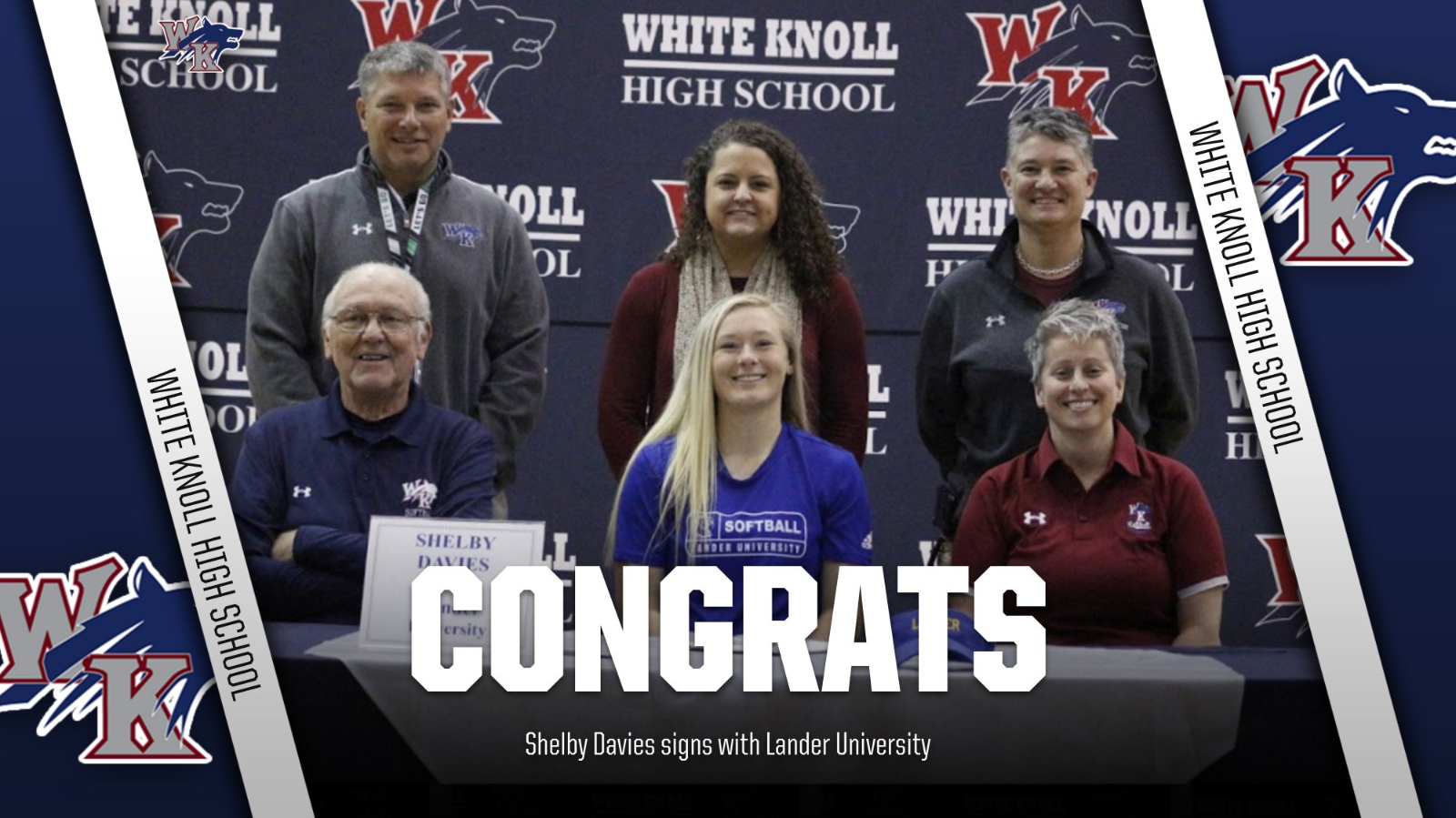 Shelby Davies signs with Lander University!