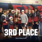 Wrestling finishes 3rd in Demon Holiday Classic