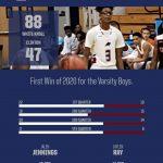 WK Boys Basketball wins big over Clinton