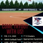Softball Tryout Information