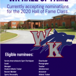 White Knoll Accepting Hall of Fame Nominations for 2020 Class