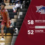 WK Boys Basketball with Region Win at Chapin