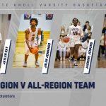 WK Basketball All Region Players