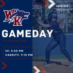 WK Softball – GAMEDAY @ Lexington