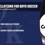 Boys Soccer Cancellations This Week