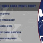 WK AWAY Events Today 3/11