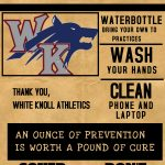 White Knoll Athletics Precautions