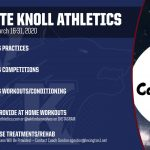 White Knoll Athletics March 24 – April 30