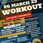 Workout Monday March 23