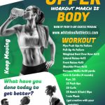 March 25 – Upper Body Workout