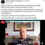 Sports Medicine Broadcast