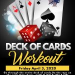 April 3 – Deck of Cards Workout