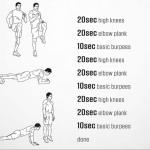 Workout – April 14