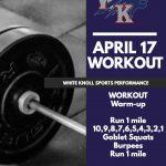 Workout – April 17