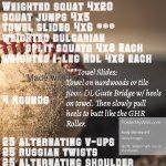 Workout – April 20
