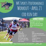 Workout – April 23