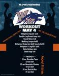 Workout – May 4