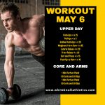 Workout – May 6