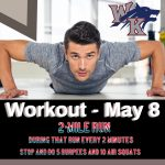Workout – May 8