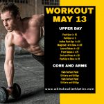 Workout – May 13