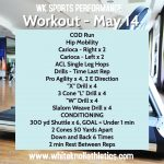 Workout – May 14